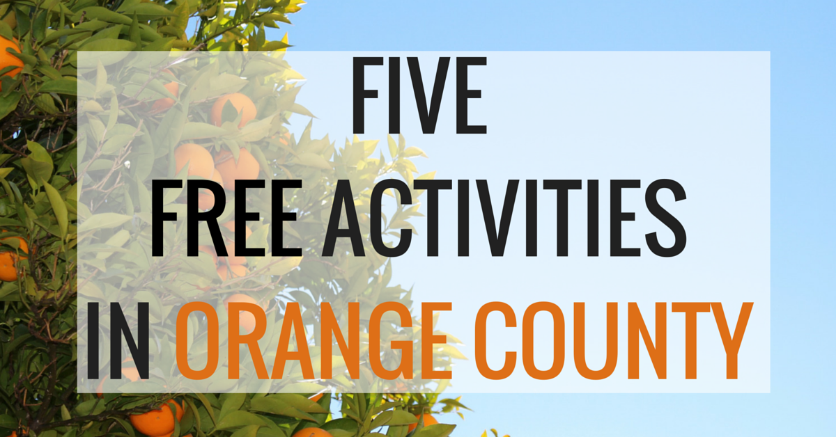 free activities in orange county