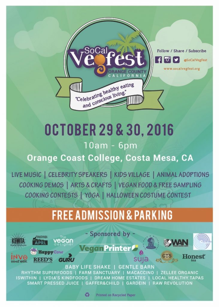 Vegan Festival in Orange County