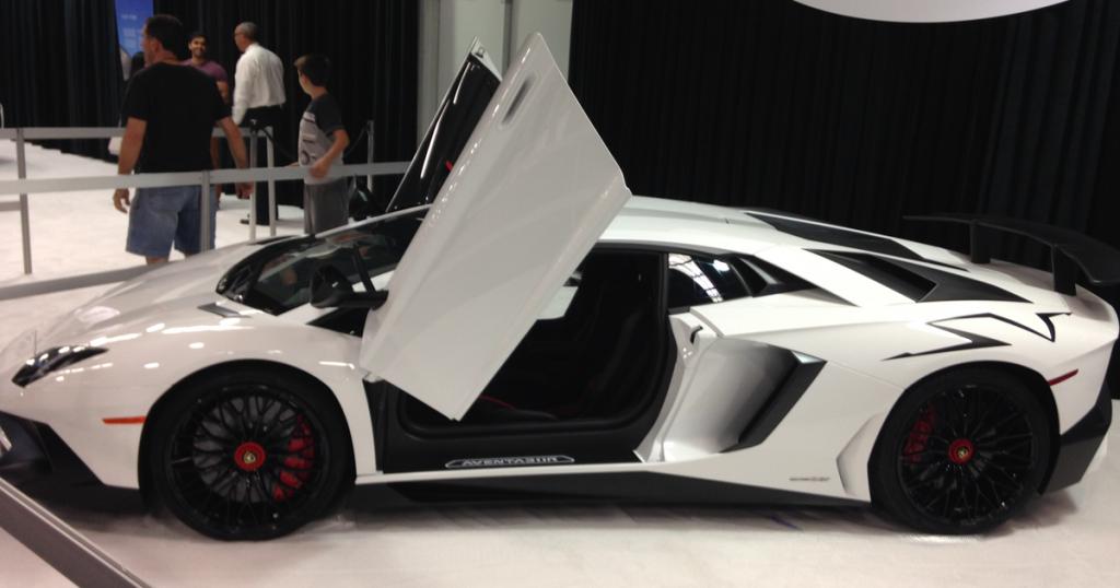Lamborghini at OC Auto Show
