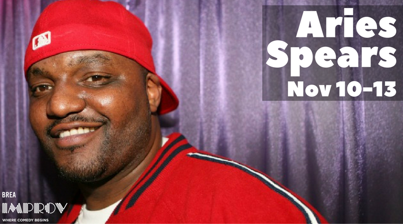 Aries Spears Headlining Brea Improv