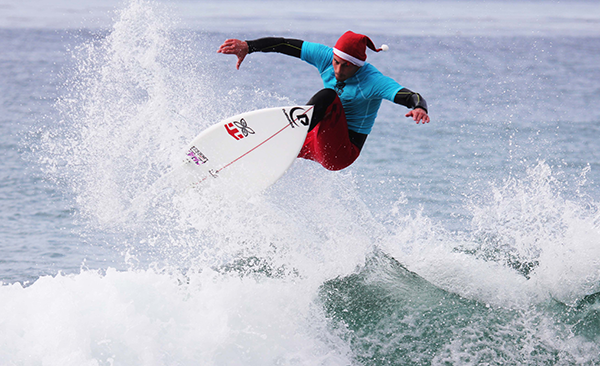 Surfing Santa Charity Event This Saturday!