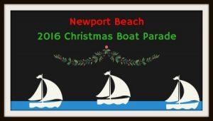 boat parade illustration